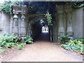 TQ2887 : The Egyptian Avenue, Highgate West Cemetery by Marathon