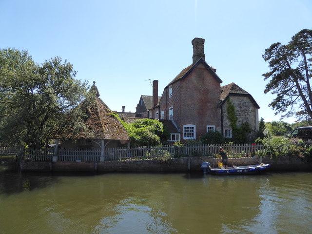 Scene on the Beaulieu River, Hampshire