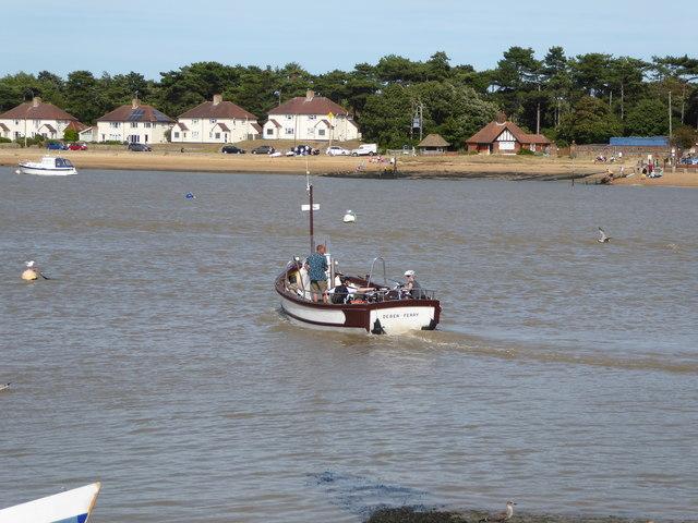 The Felixstowe to Bawdsey Ferry