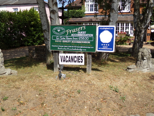 Frasers Guest House sign