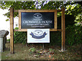 TQ7794 : Cromwell House sign by Adrian Cable