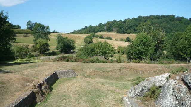 View from Montgomery Castle (Footbridge #1)