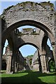 SJ6404 : Buildwas Abbey by Philip Halling