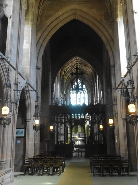 Inside the Chapel of St Mary the Virgin - Clumber Park
