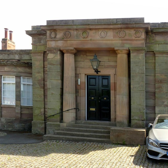 Former station building, Ashby-de-la-Zouch – main entrance