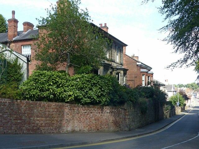 The Shrubberies, Kilwardby Street, Ashby-de-la-Zouch