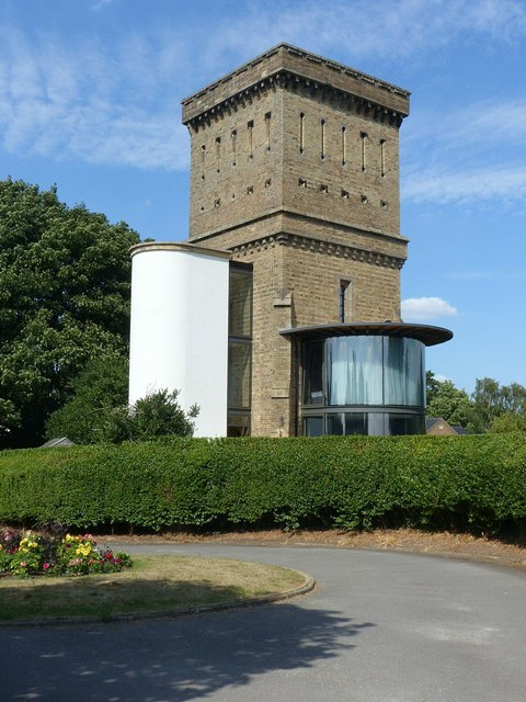 Former water tower, Ashby-de-la-Zouch