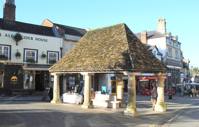 The Buttercross Market Place Ray Bird Cc By Sa20