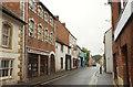 ST4126 : Bow Street, Langport by Derek Harper