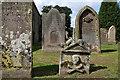 NT8539 : St Helen�s Churchyard, Cornhill : Week 33