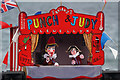 NU0051 : A Punch and Judy show at Spittal Seaside Festival by Walter Baxter