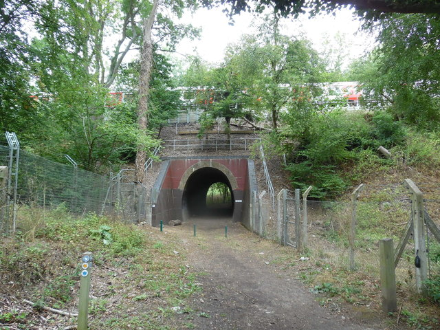 Railway Bridge from the South Side (1)