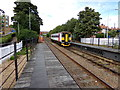 TM3877 : Train No.153314 approaching Halesworth Railway Station by Adrian Cable