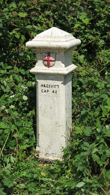 Coal tax boundary post no.94, Bridge Street (A244)