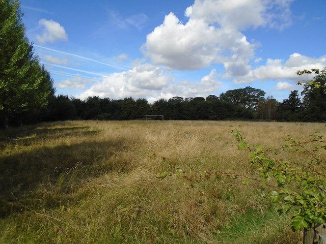 Playing field near David Lloyd Club. York