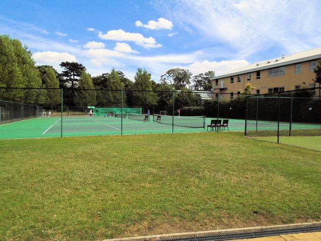 Tennis Court at David Lloyd Tennis Club York