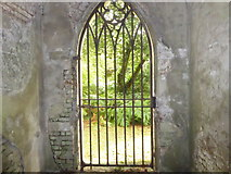 TQ2887 : Looking out from the Terrace Catacombs at Highgate Cemetery by Marathon