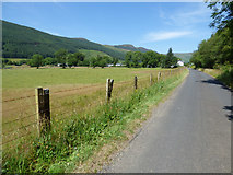 NR9984 : The road to Clachan of Glendaruel by Thomas Nugent