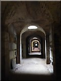 TQ2887 : Inside the Terrace Catacombs at Highgate Cemetery by Marathon