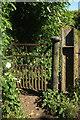SE3172 : Gate on Little Studley Road by Derek Harper