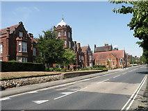 TM1645 : Ipswich School by Keith Edkins