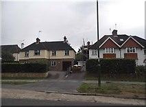 TQ1630 : Houses on Guildford Road, Horsham by David Howard
