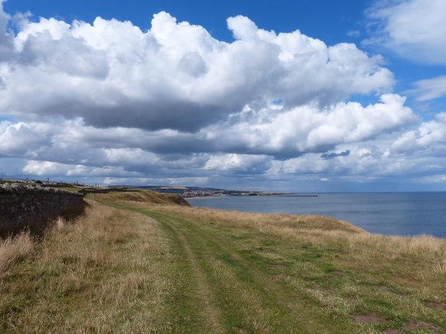 Northumberland Coast Path towards Berwick-upon-Tweed