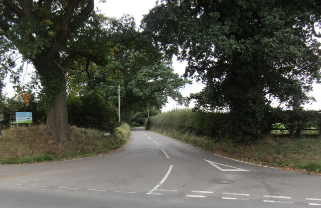 Junction of First Dig Lane and London Road, Stapeley