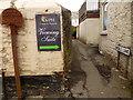 SX4252 : Signage, Middle Lane, Millbrook by Jonathan Billinger