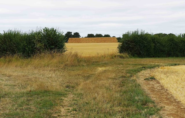 Hayrick in field near Bampton, Oxon