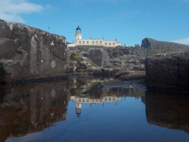 Neist Point: rockpool below the lighthouse