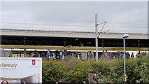 SJ8297 : Cornbrook Tram Stop by David Dixon