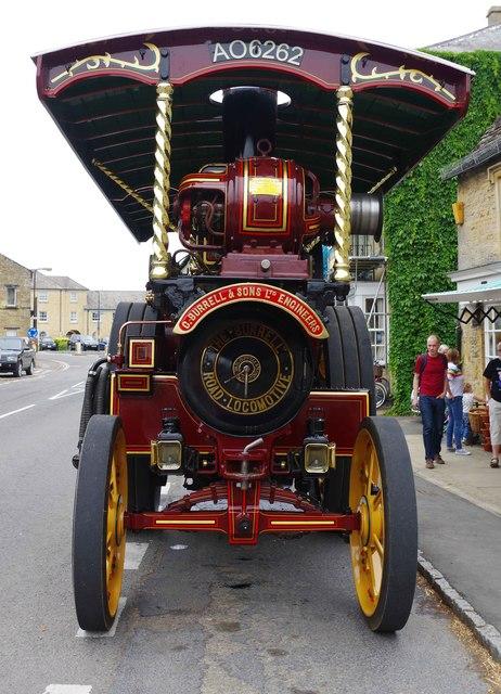 "Burrells Showmans Road Locomotive ""The Busy Bee"" (2), Bridge Street, Bampton, Oxon"