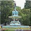 NT2473 : Refurbished Ross Fountain, Princes Street Gardens by Jim Barton