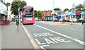 J3773 : Bus lane, Ballyhackamore, Belfast (August 2018) by Albert Bridge