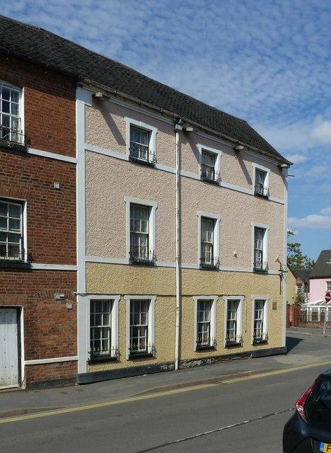 The Fallen Knight Hotel, Kilwardby Street, Ashby-de-la-Zouch