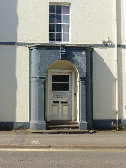 Kilwardby House, 8 & 6 Kilwardby Street, Ashby-de-la-Zouch – doorway