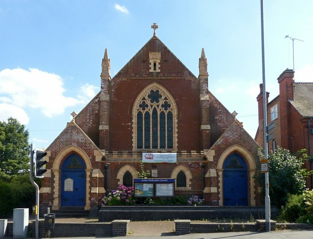 Methodist Church, Burton Road, Ashby-de-la-Zouch