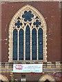 SK3516 : Methodist Church, Burton Road, Ashby-de-la-Zouch – the main window by Alan Murray-Rust