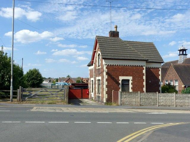 Victorian cottage on Burton Road, Ashby-de-la-Zouch