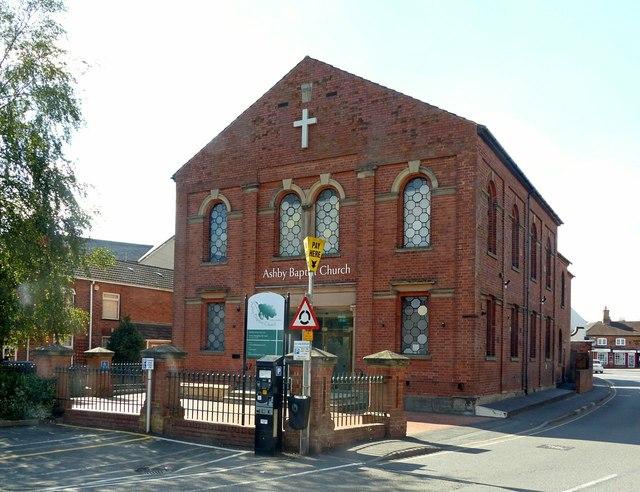 Ashby Baptist Church, Brook Street, Ashby-de-la-Zouch