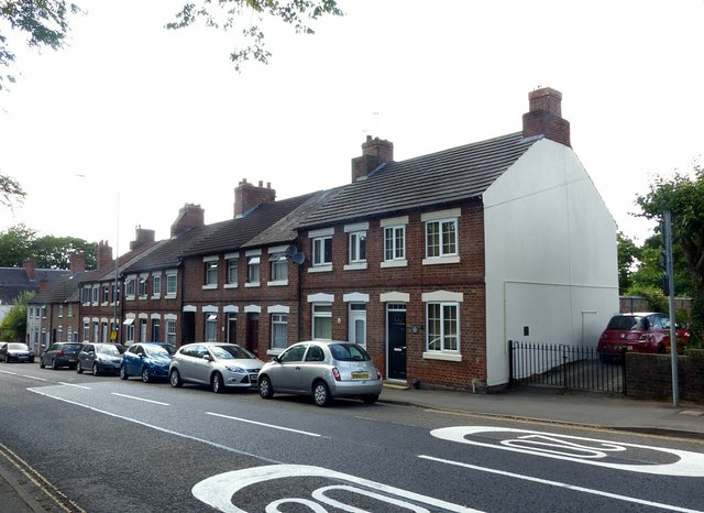 Terraced houses, Leicester Road Ashby-de-la-Zouch