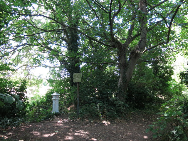 Footpath on the north side of Desborough Island