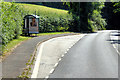 SX9267 : Bus Stop on Teignmouth Road by David Dixon