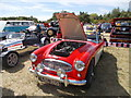 TF1207 : 1962 Austin-Healey 3000 at the Maxey Classic Car Show, August 2018 by Paul Bryan