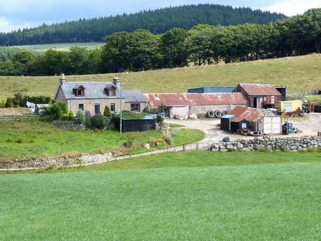 Tomnagorn farmstead
