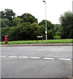 ST3090 : Site of a former phonebox, Rowan Way, Malpas, Newport by Jaggery