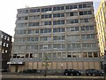 SZ0991 : Boarded-up office block in Bournemouth by Jonathan Hutchins