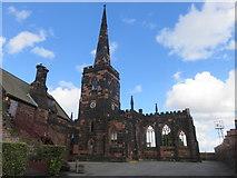 SJ3288 : St Mary's Church, Birkenhead by Richard Rogerson