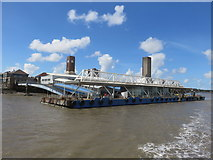 SJ3290 : Seacombe Ferry Terminal by Richard Rogerson